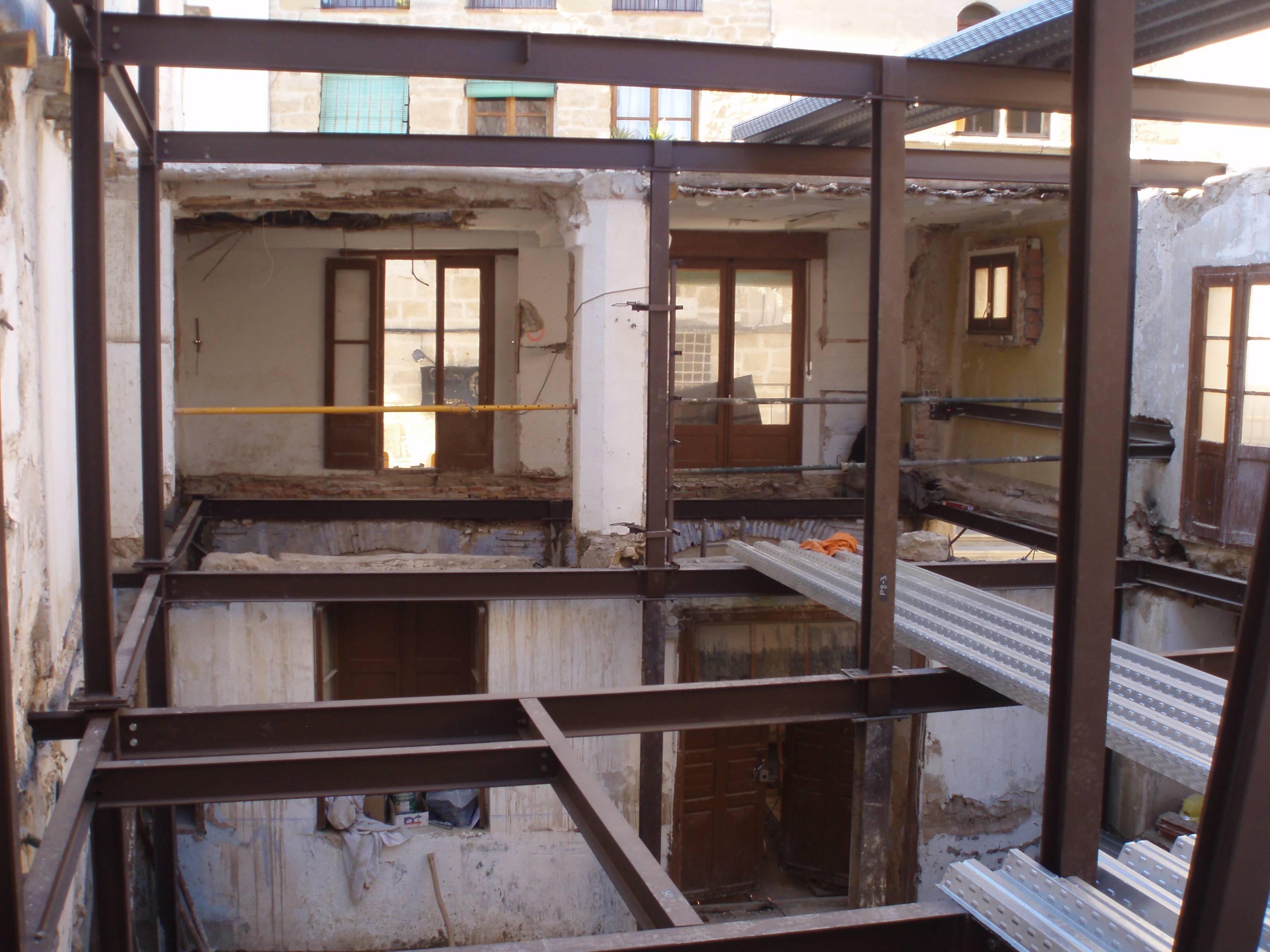 Rehabilitacion integral de edificio en conjunto historico - Rehabilitar casa antigua ...